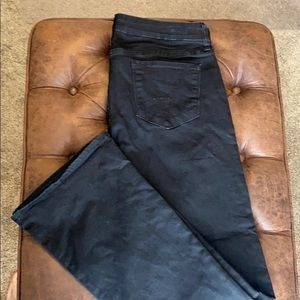 KUT from the Kloth Black Booth Cut Jeans 12